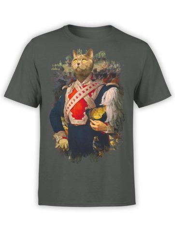 0012 Cat Shirts Colonel Cat Front