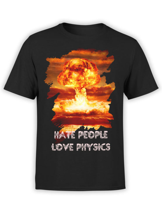 0021 Army T Shirt Nuclear Front