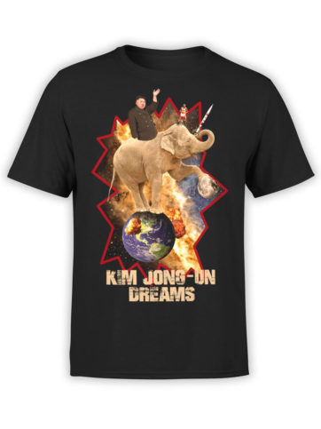 0027 Army T Shirt Kim Dreams Front