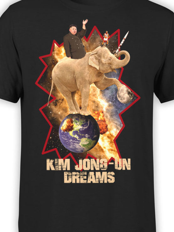 0027 Army T Shirt Kim Dreams Front Color