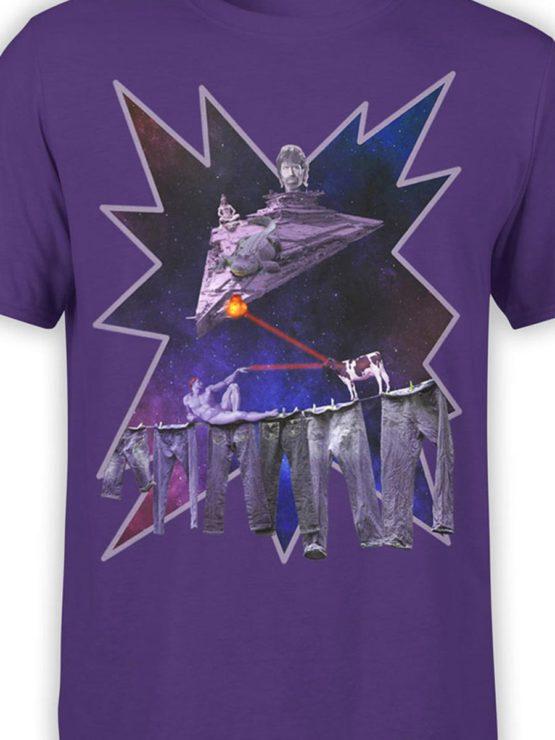0032 Army T Shirt Chuck Norris vs Adam Front Color