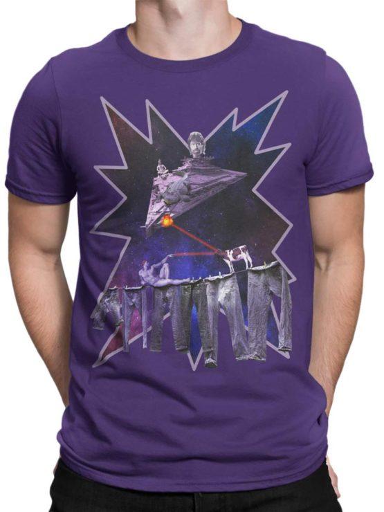 0032 Army T Shirt Chuck Norris vs Adam Front Man