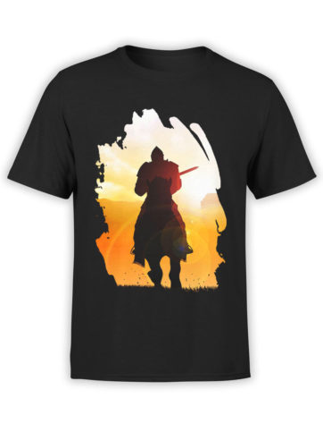 0085 Army T Shirt Sunset Front
