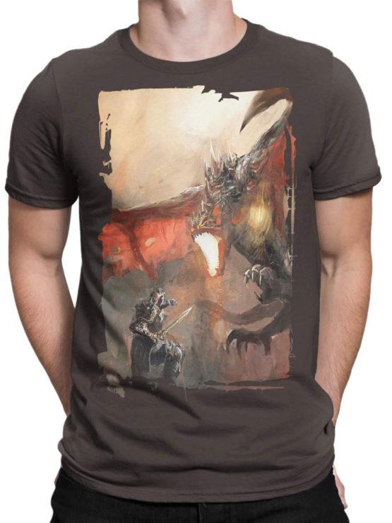 0088 Army T Shirt Dragon Front Man