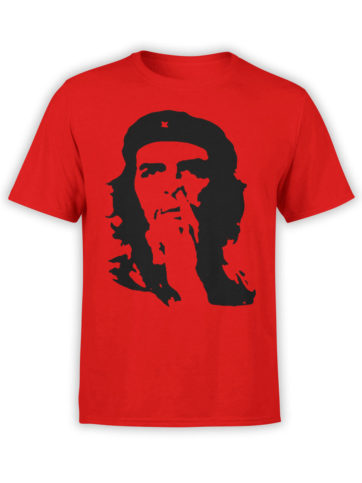0145 Army T Shirt Che Guevara Nose Front