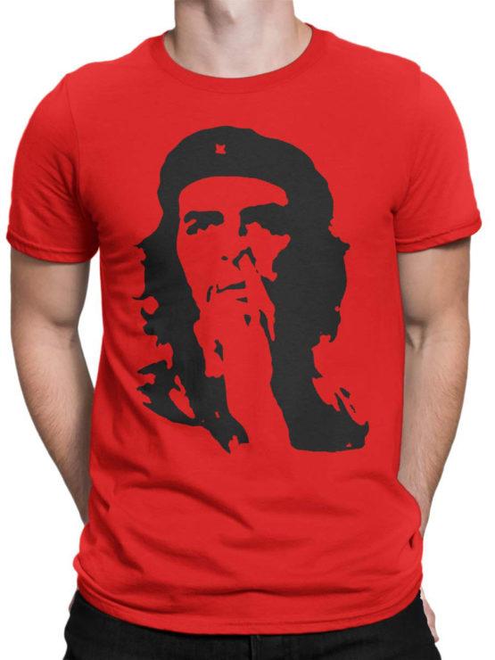 0145 Army T Shirt Che Guevara Nose Front Man
