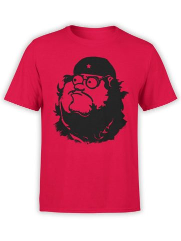 0198 Army T Shirt Peter Guevara Front Red