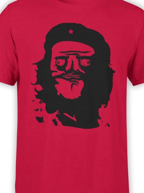 0252 Army T Shirt Meme Guevara Front Color