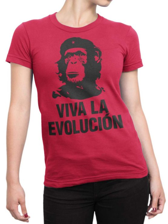 0263 Army T Shirt Evolution Front Woman