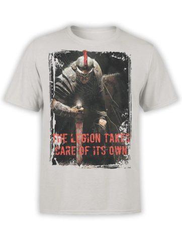 0365 Army T Shirt Legion Front Silver