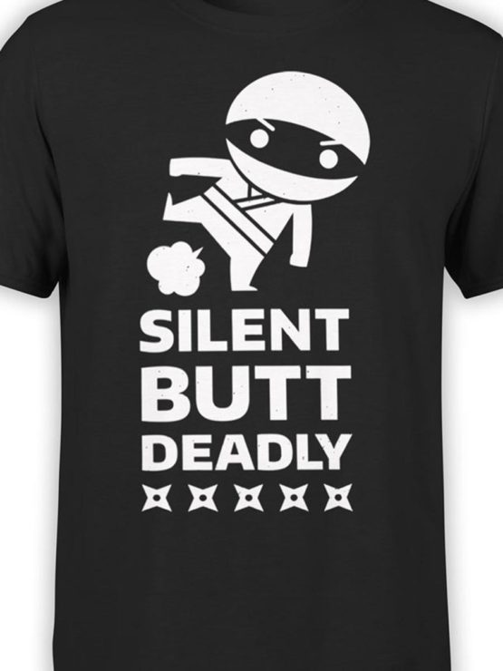 0543 Army T Shirt Silent Ninja Front Color
