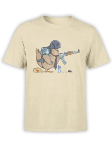 0576 Army T Shirt Chicken Winner Front