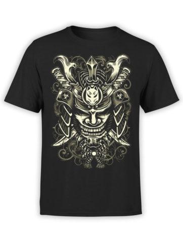 0645 Samurai Shirt Mask Front