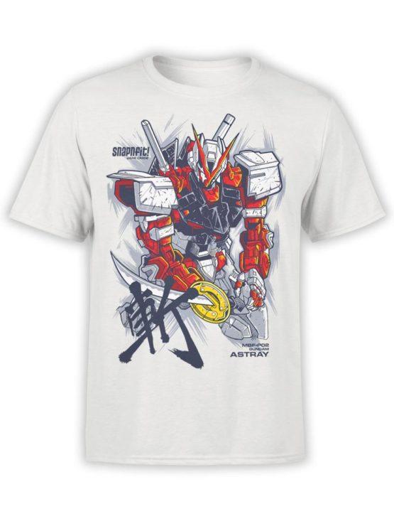 500 Army T Shirt Gundam Astray FrontAsh