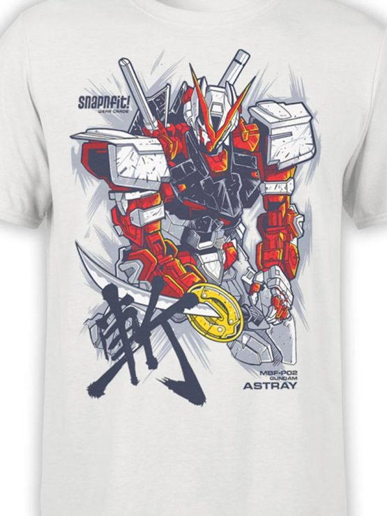 500 Army T Shirt Gundam Astray Front Color