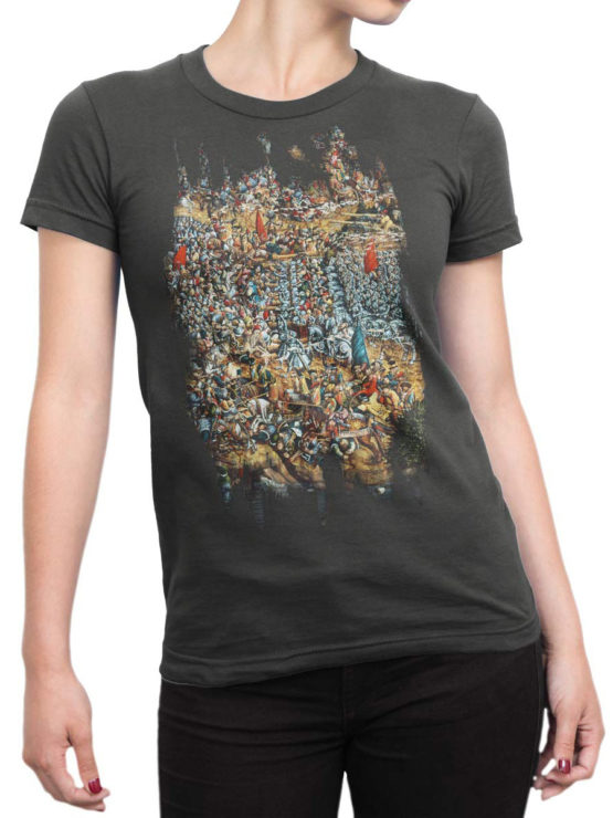 Army T Shirt Battle Of Orsia Front Woman