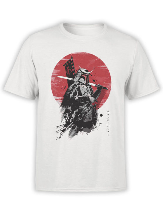 0898 Samurai Shirt Warrior Front