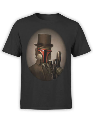 0916 Star Wars Shirt Mr Boba Fett Front