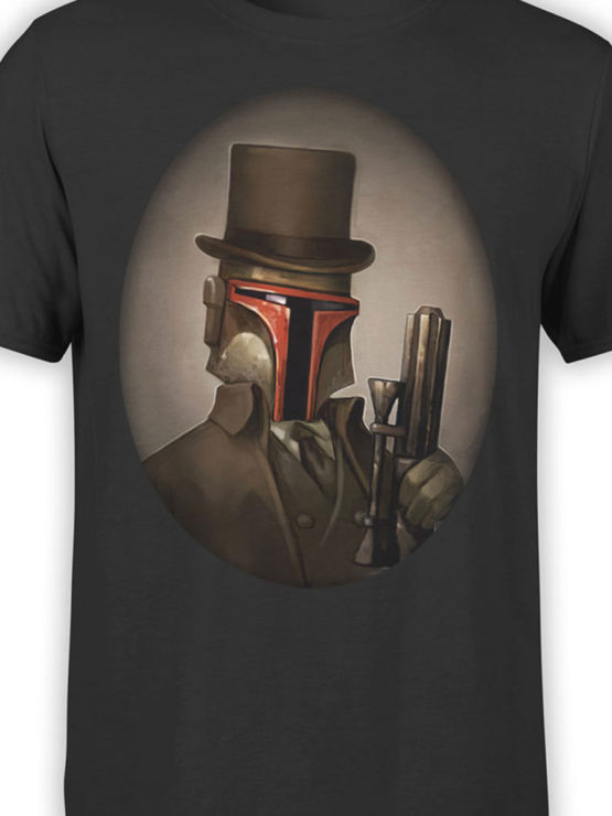 0916 Star Wars Shirt Mr Boba Fett Front Color