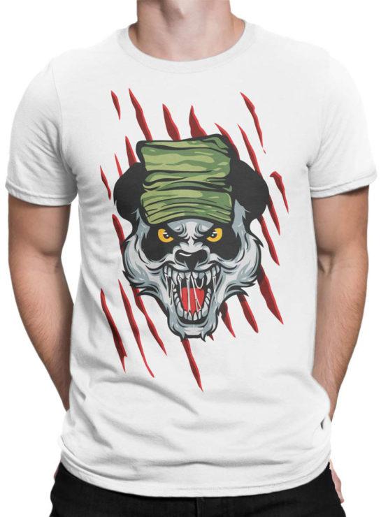 0920 Panda Shirt Army Front Man